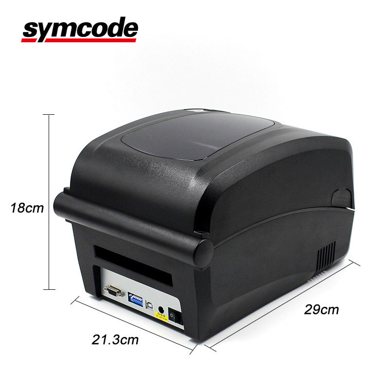 24 VDC Label Barcode Printer / QR Sticker Printer RS232 Serial Interfaces