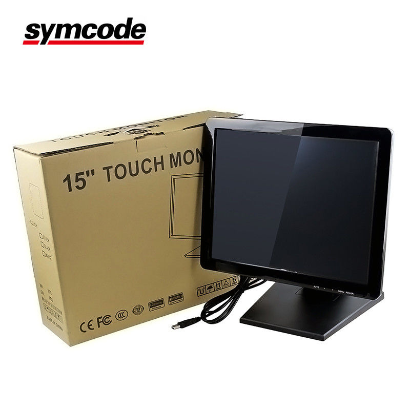 Infrared Multi Touch 15 Inch Screen High Performance Dustproof And Oil Proof